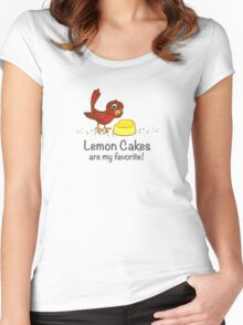 Lemon Cakes are my favorite! Women's Fitted Scoop T-Shirt
