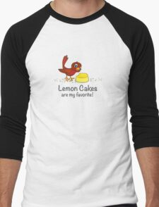 Lemon Cakes are my favorite! Men's Baseball ¾ T-Shirt