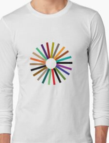 Colour Wheel T-Shirt Long Sleeve T-Shirt