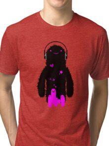 fuzzy love Tri-blend T-Shirt
