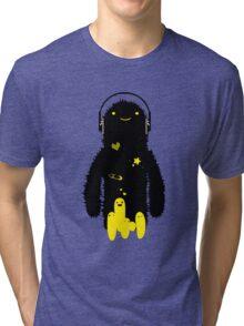 fuzzy love_02 Tri-blend T-Shirt
