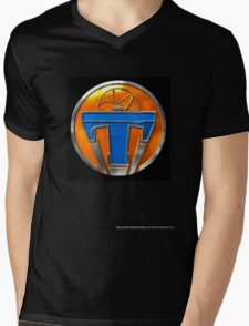Tomorrowland Mens V-Neck T-Shirt