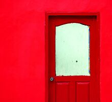 Red Door by Charuhas  Images
