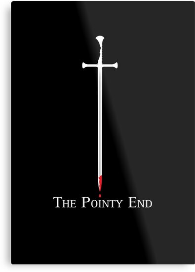 The Pointy End by JenSnow