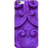 Stone Wall Purple iPhone Case/Skin