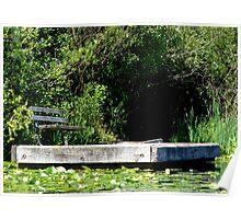 Private Dock, Secret Garden Poster