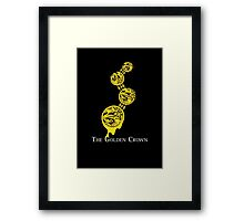 The Golden Crown Framed Print
