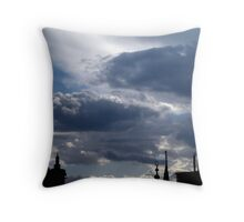 Quiet monsters Throw Pillow