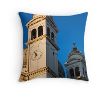 Local architecture Throw Pillow