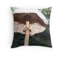 The Bug's Point of View Throw Pillow