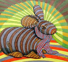 278 - PETER BUNNY - DAVE EDWARDS - COLOURED PENCILS & FINELINERS - 2009 by BLYTHART