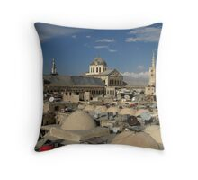 Again more old domes and new (and old) dishes... Throw Pillow