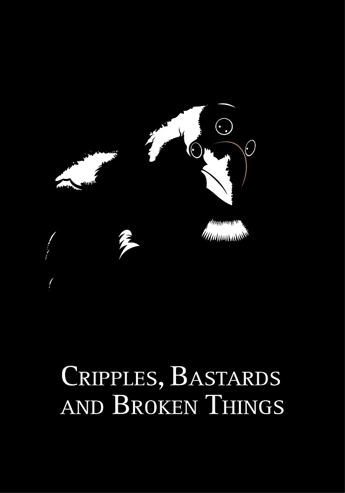 Cripples, Bastards, and Broken Things by JenSnow
