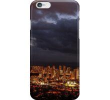 Honolulu City Lights iPhone Case/Skin