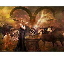 Aries - Ode To Joy Photographic Print