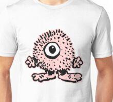 Cute Cartoon Pink Monster T-Shirt by Cheerful Madness!! Unisex T-Shirt