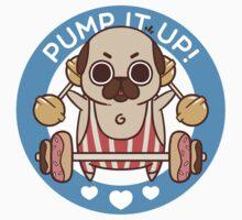 Pump It Up, Puglie! Kids Clothes