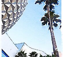 Spaceship Earth by johnnycdesigns