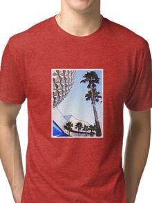 Spaceship Earth Tri-blend T-Shirt