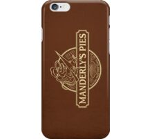 Manderly's Pies (in tan) iPhone Case/Skin