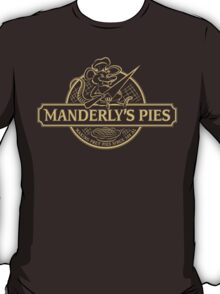 Manderly's Pies (in tan) T-Shirt
