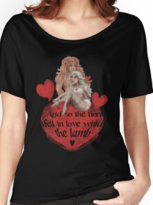 the lIon and the lamb Women's Relaxed Fit T-Shirt