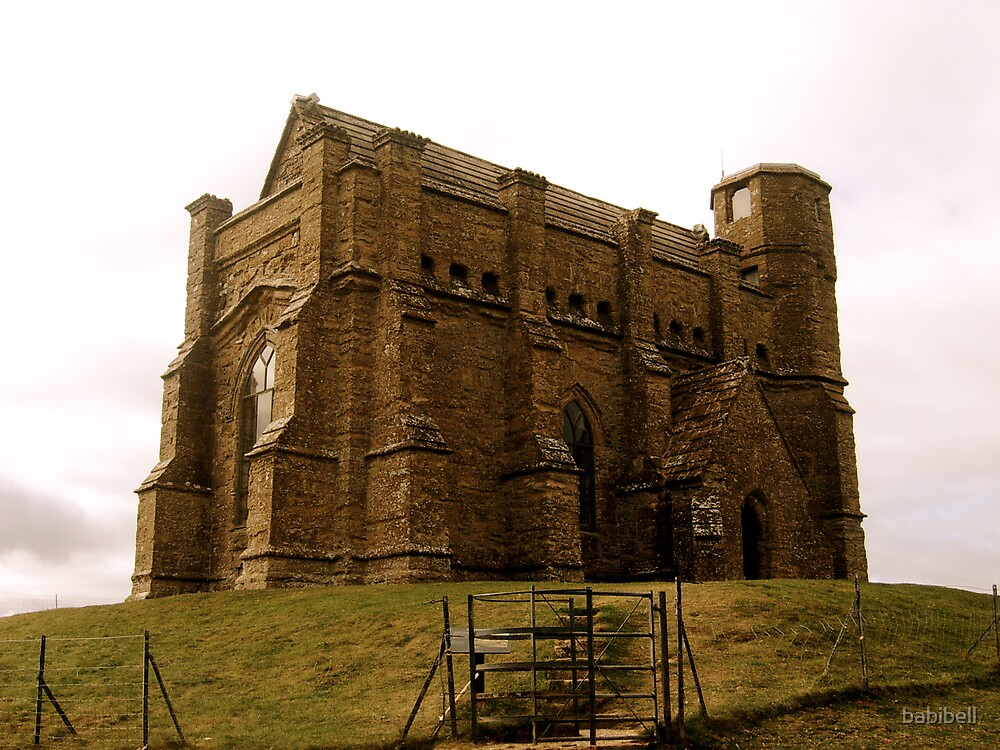 St Catherine's Chapel by Claire Elford