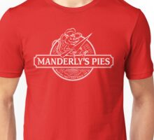 Manderly's Pies (in white) Unisex T-Shirt