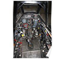 ME109 Cockpit Poster