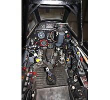 ME109 Cockpit Photographic Print