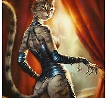 The Hermitage cats' Mistress by Ldarro