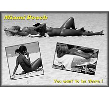 The Appeal Of Miami Beach Photographic Print