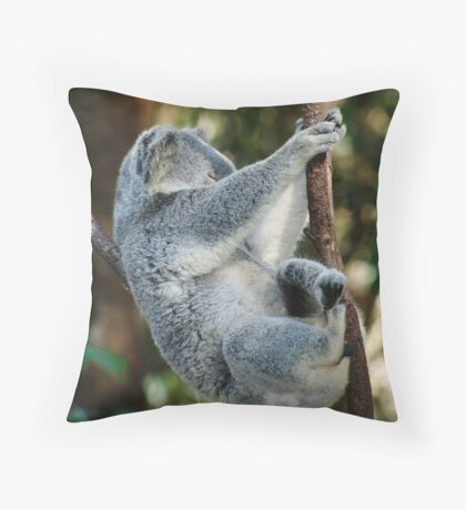 Firm Grip on Reality Throw Pillow