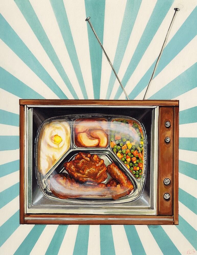 TV Dinner by Kelly  Gilleran