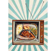 TV Dinner Photographic Print