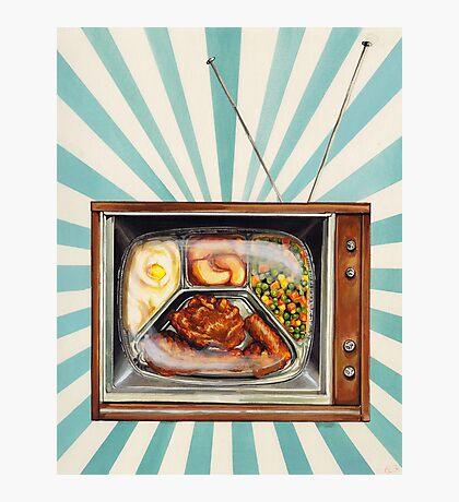 TV Dinner Photographic Print