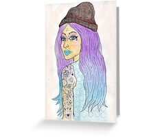 Love In Her Eyes Greeting Card