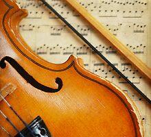 Violin by VikaRayu