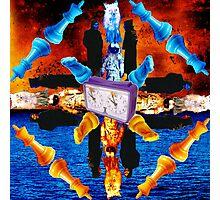 Brand New Album Mandala 2 Photographic Print