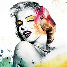 Marilyn Monroe with a twist by funkingonuts