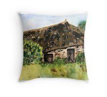 Peasant House Throw Pillow