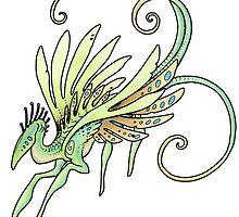 Leaf dancer by thedancingemu