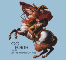 Go Forth and Conquer Kids Tee