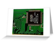 IC and Printed Circuit Board Greeting Card