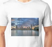 London  Westminster at Sunset, London England Unisex T-Shirt