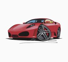 Ferrari F430 Red by Richard Yeomans