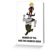 Sera and Bull's Guild Greeting Card