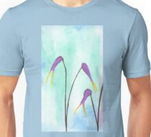 Scissors Flowers Unisex T-Shirt