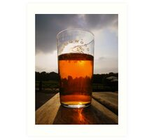 The New Forest: A Pint of Pure Gold Art Print