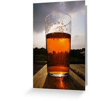 The New Forest: A Pint of Pure Gold Greeting Card